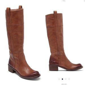 Lucky Brand $219 Hibiscus Riding Boots